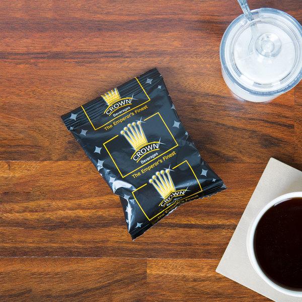 Crown Beverages Emperor's Finest Premium Blend Coffee 2 oz. Packet - 80/Case