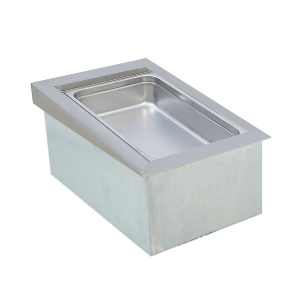 "Wells ICP-100 18"" One Pan Drop In Ice Cooled Cold Food Well"