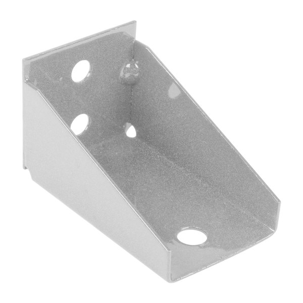 Metro SBES Super Erecta Stainless Steel Post-Type Wall Mount Replacement End Bracket