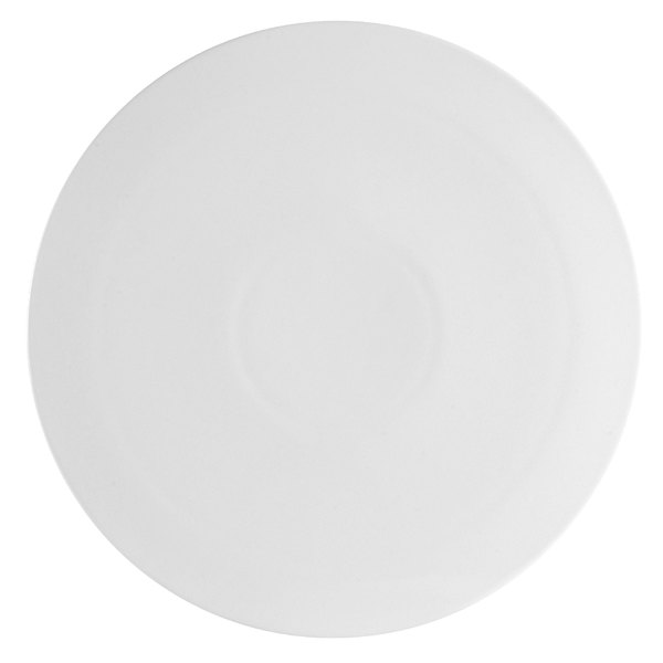 "CAC PP-12 White China Pizza Plate 12"" - 12/Case"