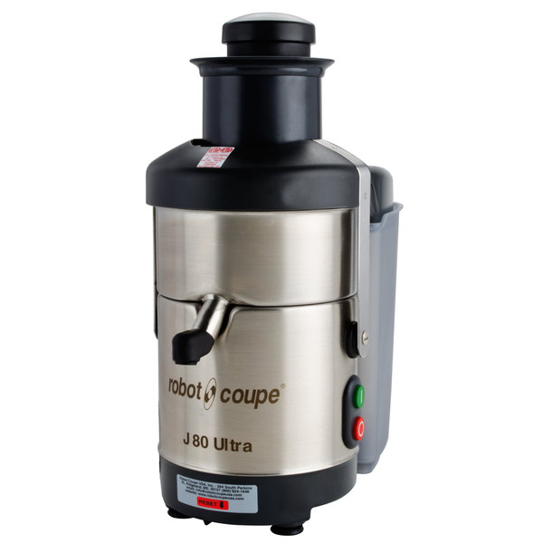 4bae6bc61bc Robot Coupe J80 Ultra Automatic Juicer with Pulp Ejection - 120V ...