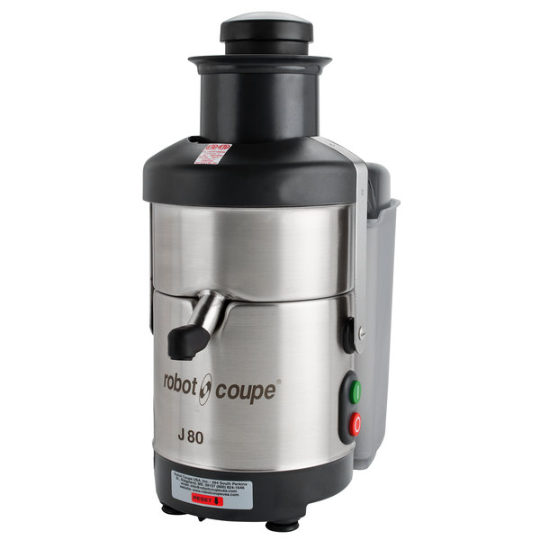 Robot Coupe J80 Automatic Juicer with Pulp Ejection - 120V, 3000 RPM Main Image 1