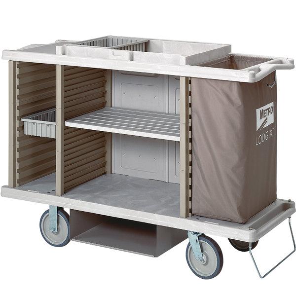 Metro LXHK3-PLUS Lodgix Plus Housekeeping Cart