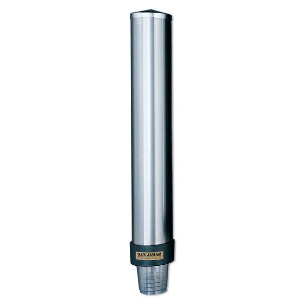San Jamar C3200P Pull Type Cup Dispenser 6 oz. - 10 oz.
