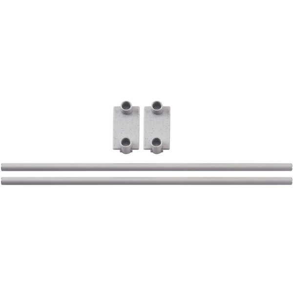 "Cambro CPR21E151 End Shelf Rail for 21"" Wide Cambro Camshelving® Premium Modular Shelving Units Main Image 1"