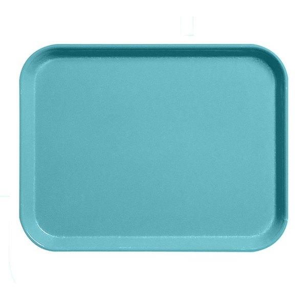 """Cambro 1520CL162 15"""" x 20"""" Green Camlite Tray - 12/Case Main Image 1"""