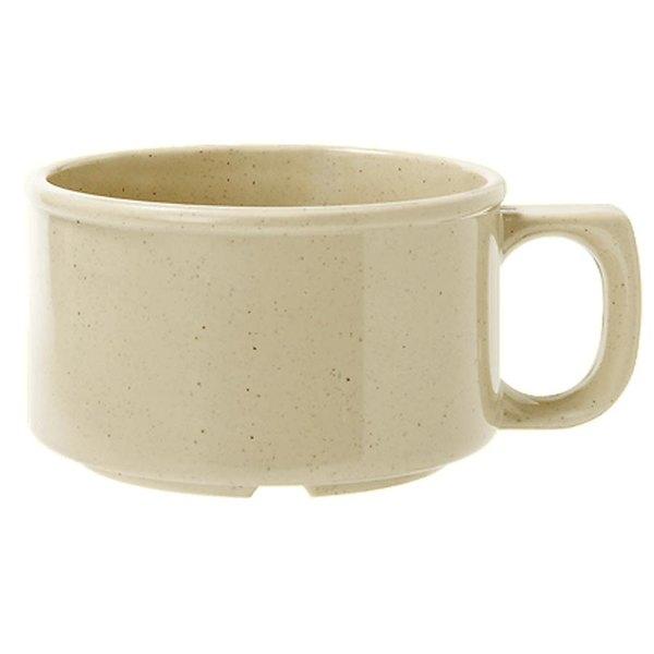 GET BF-080-S Tahoe 11 oz. Sandstone Melamine Mug - 24/Case
