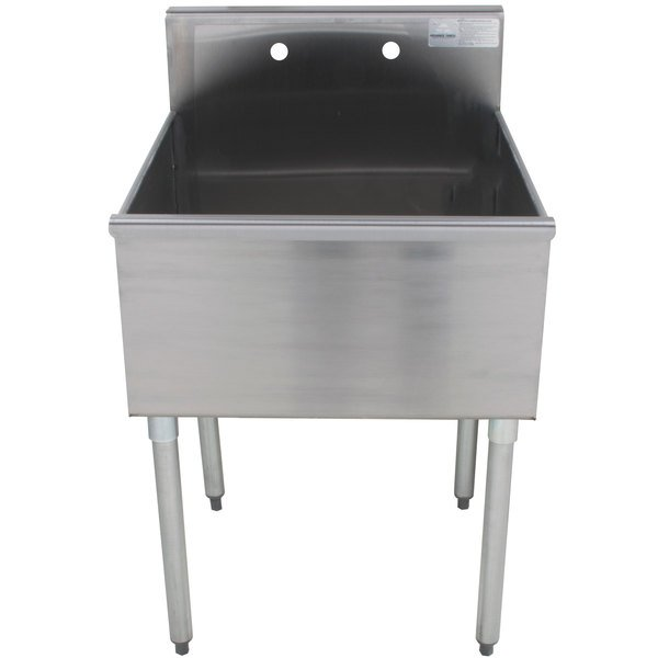 Advance Tabco 4-41-24 One Compartment Stainless Steel Commercial Sink - 24""
