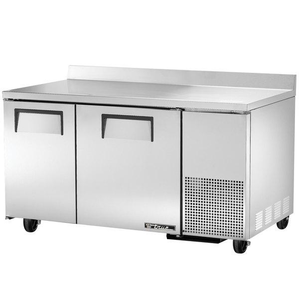 """True TWT-60-32 60"""" Deep Work Top Refrigerator with Two Doors"""