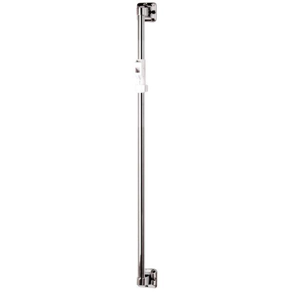 "T&S B-0940 Shower Queen 24"" Vertical Grab Bar with Sliding Spray Bracket"