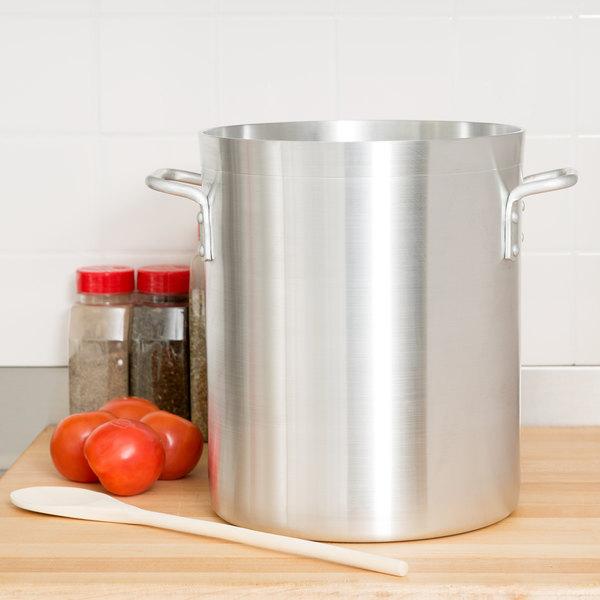 16 Qt. Standard Weight Aluminum Stock Pot