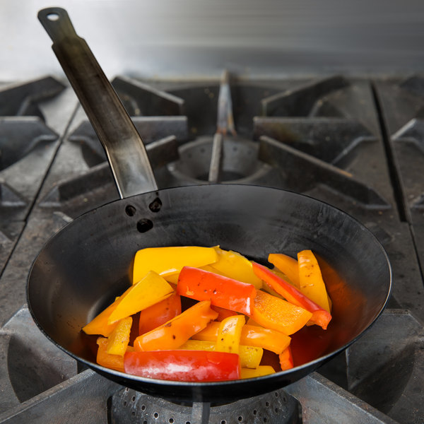 """Vollrath 58900 Carbon Steel Fry Pan 8 1/2"""" - French Style"""