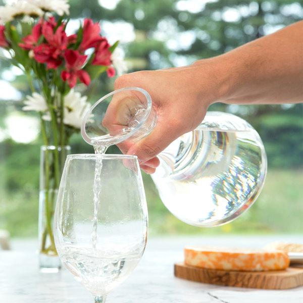 Stolzle 86506 / 500091 Slant 26.5 oz. Glass Carafe