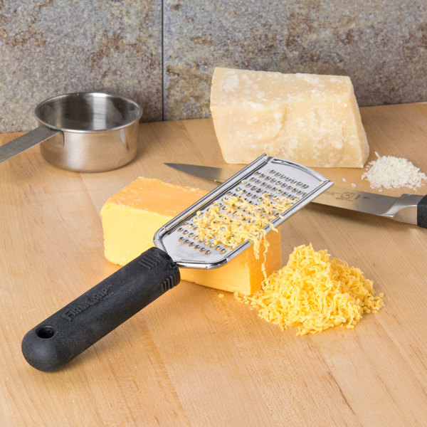 Tablecraft E5615 Firm Grip Handheld Grater with Small Holes