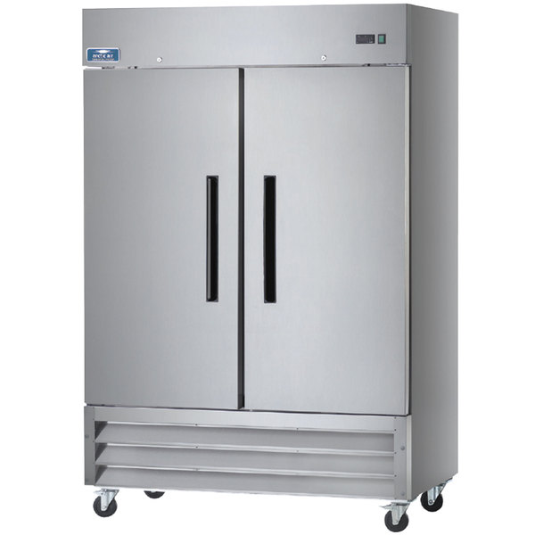 Arctic Air Af49 Two Section Reach In Freezer 49 Cu Ft