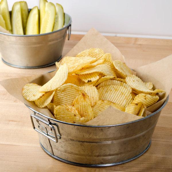Snyder's of Hanover Plain Ripple Potato Chips 1 lb. Bag - 9/Case