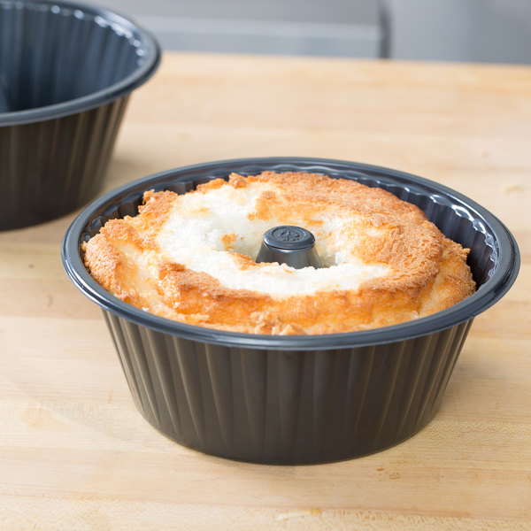 "Genpak 55A08 8"" Bake N' Show Angel Food Cake Pan - 200/Case"