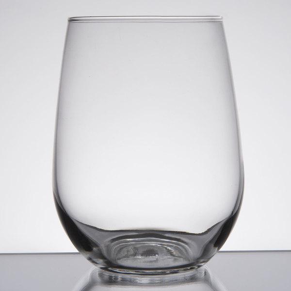 Libbey 221 17 Oz Stemless White Wine Gl 12 Case
