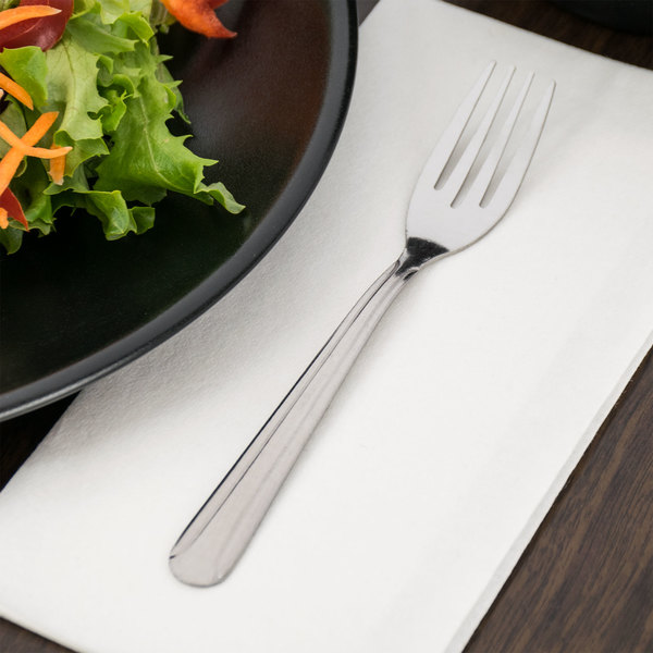 Dominion Flatware Stainless Steel Salad Fork - 12/Case