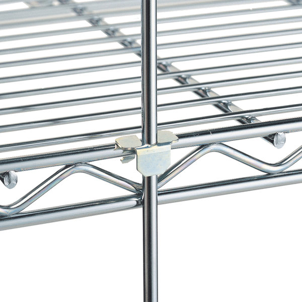 "Metro R61S 61"" Stainless Steel Wire Shelving Rod"