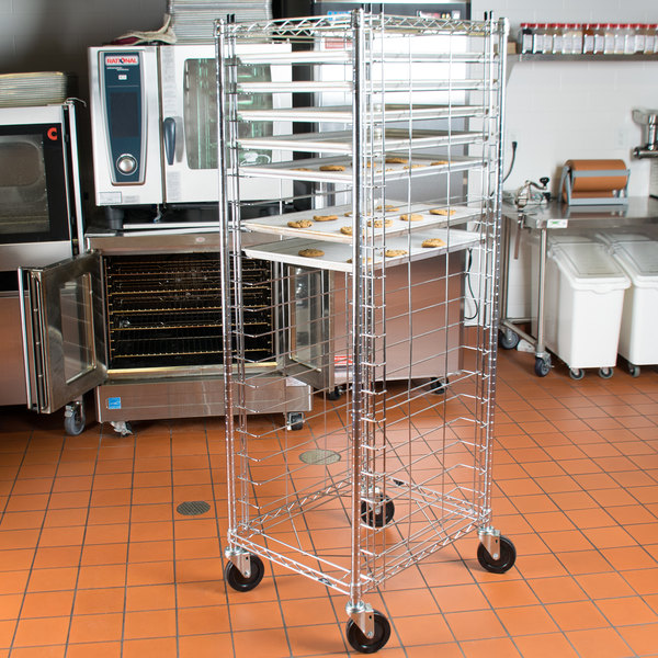 Metro RE3 20 Pan End Load Bun / Sheet Pan Rack - Unassembled Main Image 4