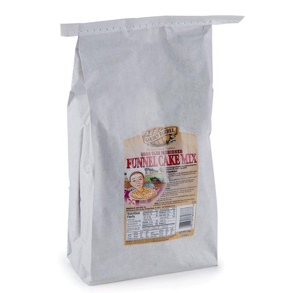 Golden Barrel 5 lb. Funnel Cake Mix - 6/Case