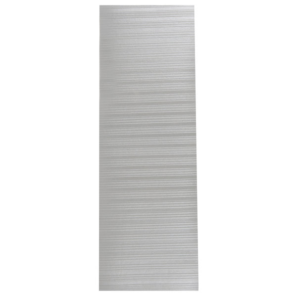 "Cactus Mat 1025R-E6 Tredlite 6' Wide Gray Ribbed Vinyl Anti-Fatigue Mat - 3/8"" Thick"