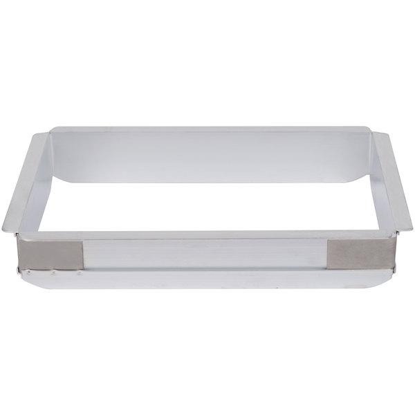 Quarter Size Aluminum Pan Extender - 2 inch High