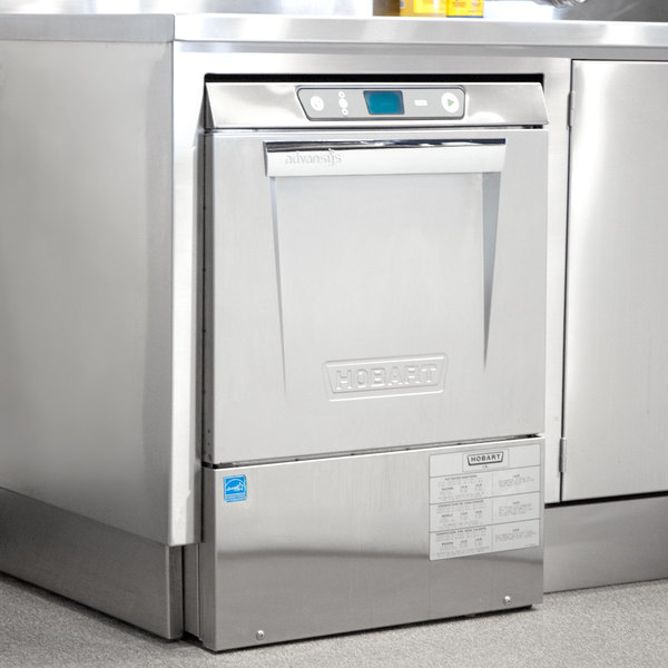 Hobart LXeR-5 Advansys Undercounter Dishwasher with Energy Recovery Hot Water Sanitizing - 208-240V, 3 Phase Main Image 4