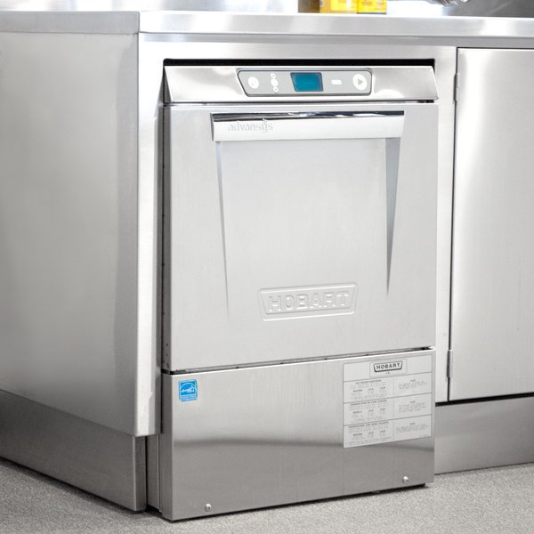 Hobart LXeR-5 Advansys Undercounter Dishwasher with Energy Recovery Hot Water Sanitizing - 208-240V, 3 Phase