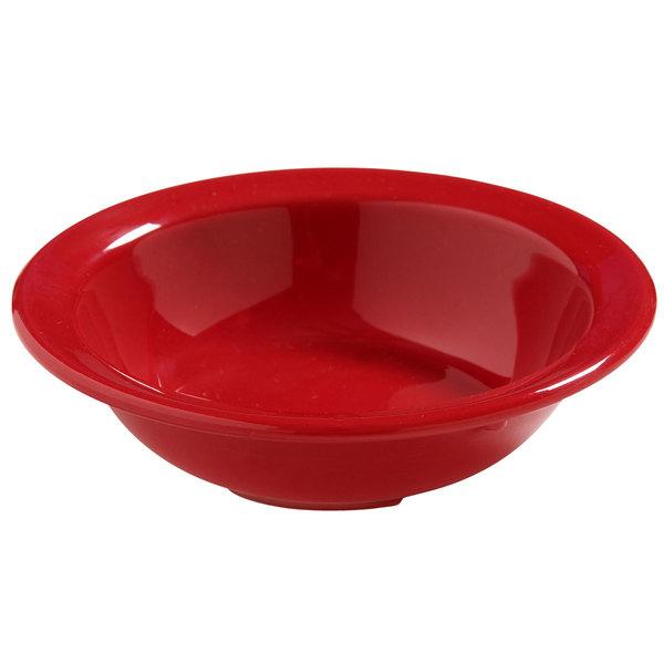 Carlisle 4386605 Red Dayton 4.75 oz. Fruit Bowl - 48/Case