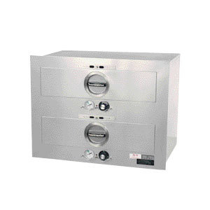 Toastmaster 3B20AT09 23 inch Built-In 2 Drawer Warmer - 120V, 1000W