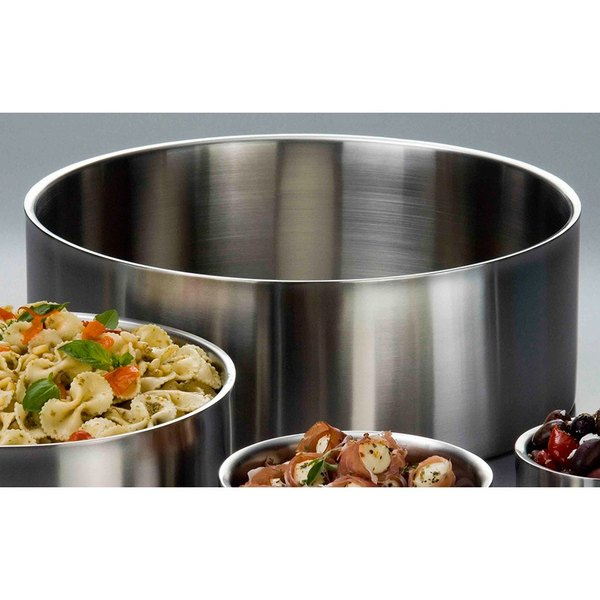 "American Metalcraft DWB14 14"" x 5"" Insulated Stainless Steel Double Wall Bowl"