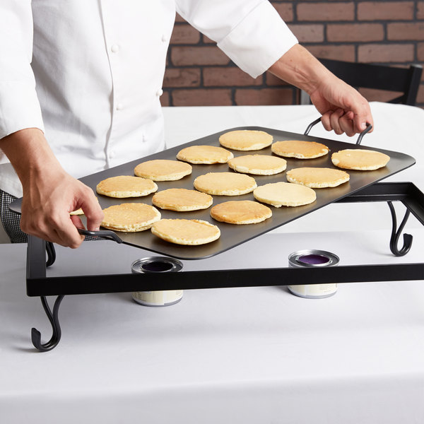 American Metalcraft G72 Full Size Wrought Iron Griddle