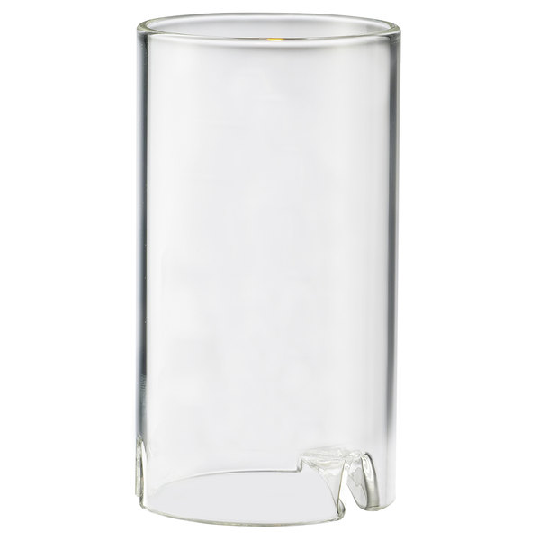"Sterno 80120 Nikola 4 1/2"" Clear Round Glass Liquid Candle Holder Main Image 1"