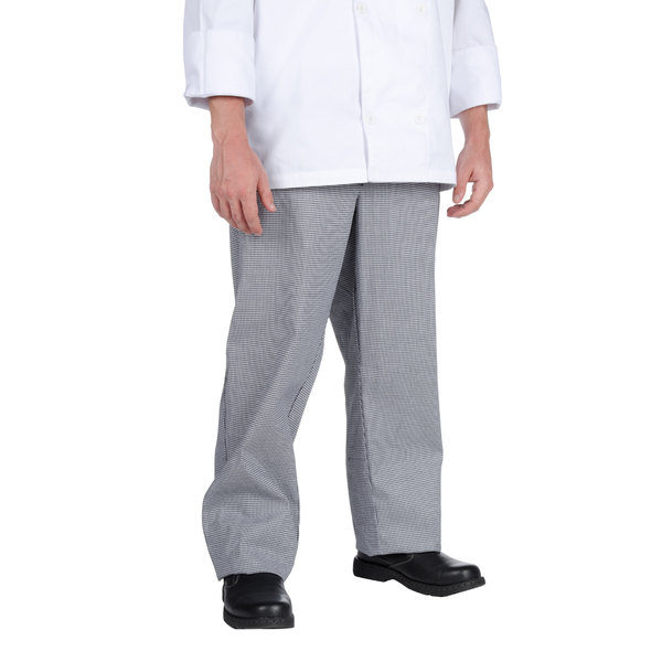 Chef Revival Size 2X Houndstooth Chef Trousers
