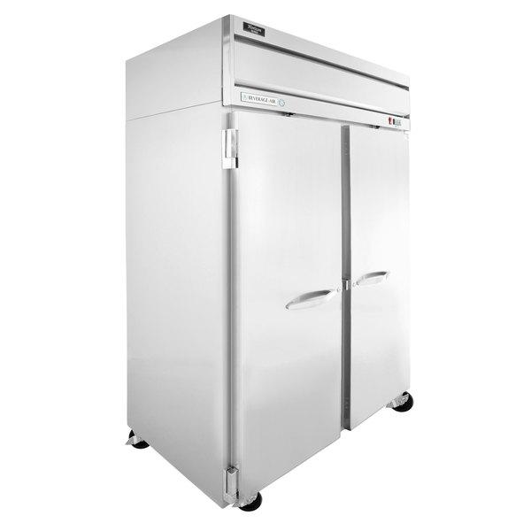 """Beverage-Air HF2-1S Horizon Series 52"""" Solid Door Reach-In Freezer"""