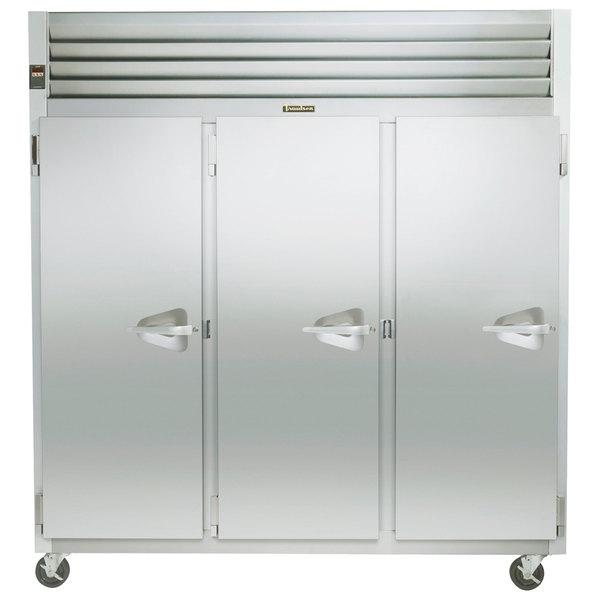"""Traulsen G31013 77"""" G Series Solid Door Reach in Freezer with Left Hinged Doors Main Image 1"""
