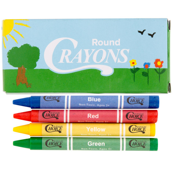 choice 4 pack kids restaurant crayons 100 pack