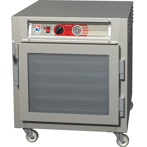 Metro C563L-SFC-L C5 6 Series Under Counter Reach-In Heated Holding Cabinet - Clear Doors
