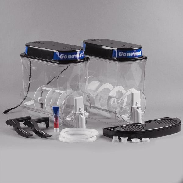 Bunn 34000.0401 Black Post-Mix Hopper Set for Ultra-2 Frozen Beverage Systems
