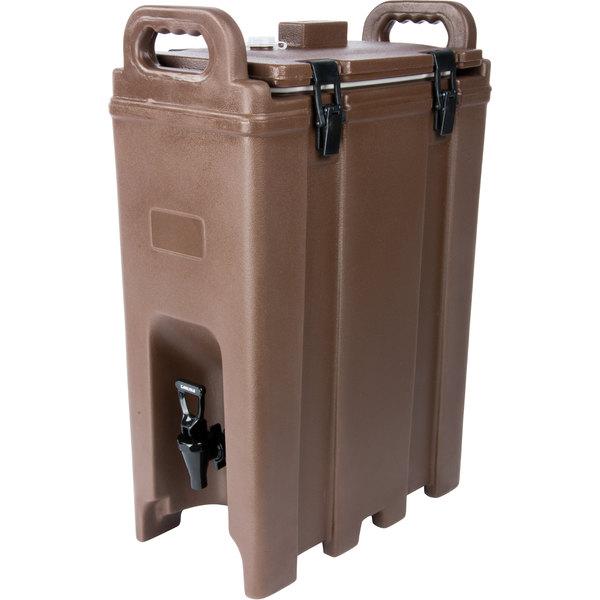 Carlisle LD500N01 Cateraide Brown 5 Gallon Insulated Beverage Dispenser