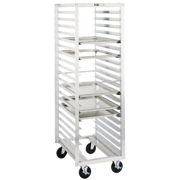 Metro RD15N 18 Pan End Load Bun / Sheet Pan Rack - Assembled Main Image 1