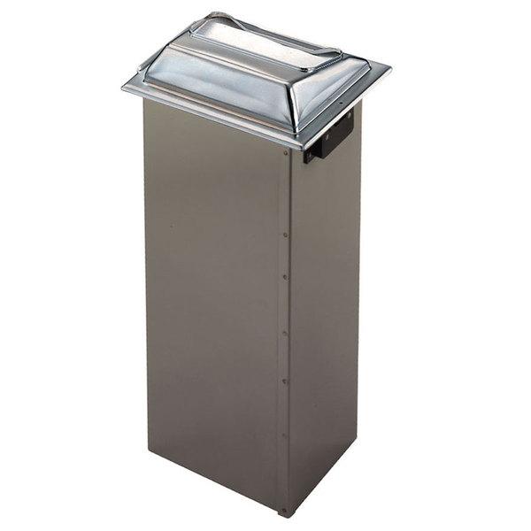 San Jamar H2001SS In-Counter Fullfold Napkin Dispenser - Stainless Steel Main Image 1