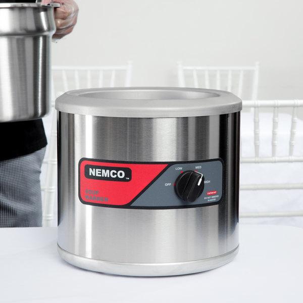 Nemco 6100A 7 Qt. Countertop Warmer - 120V, 550W Main Image 2
