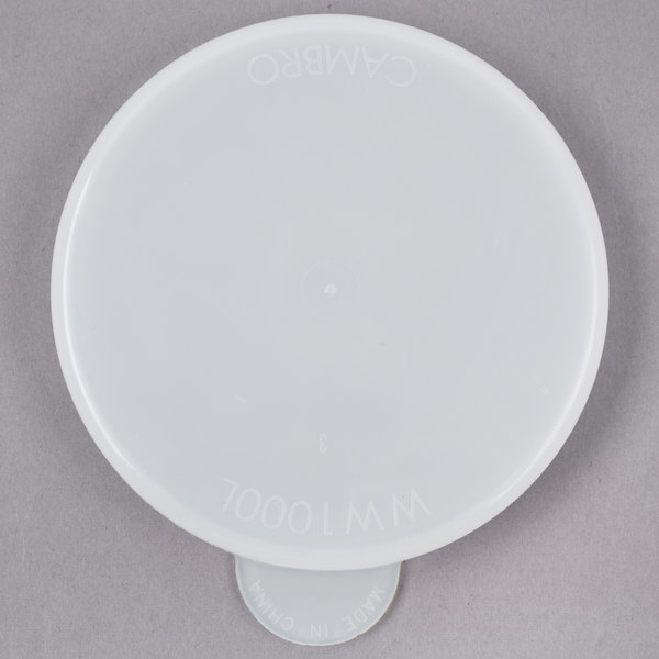 Cambro WW1000L Camliter Beverage Decanter Replacement Lid