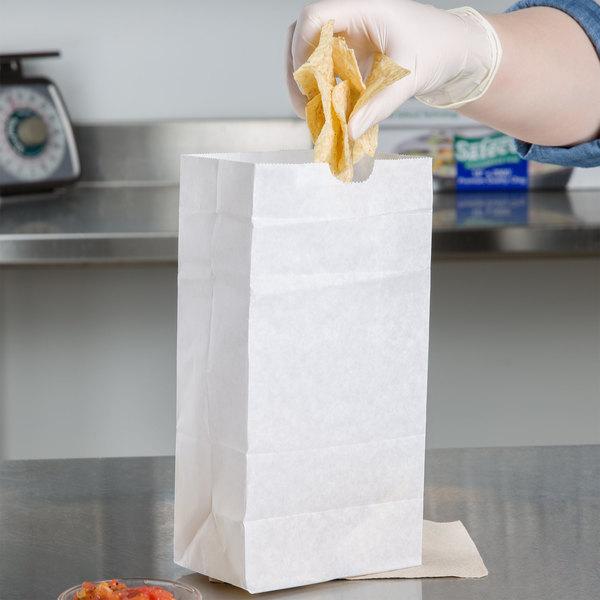 4 lb. Waxed Paper Bag - 1000/Case