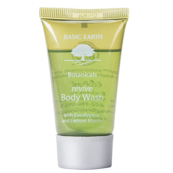 Basic Earth Botanicals Hotel and Motel Body Wash 1 oz. Bottle - 300/Case
