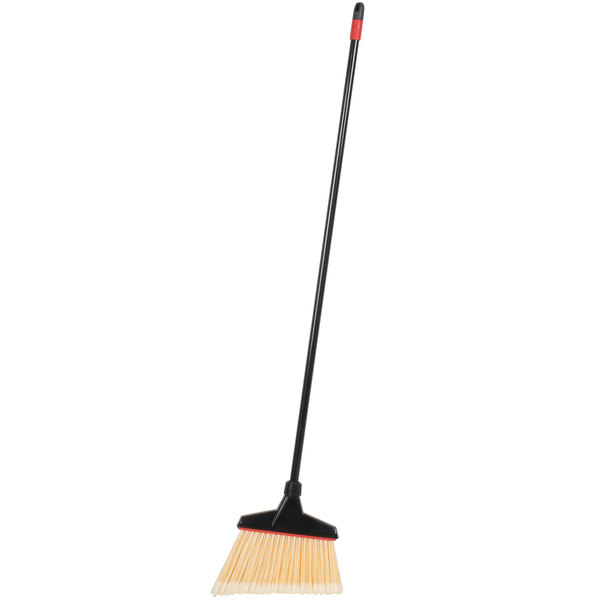 Diversey 91351 O-Cedar Maxi-Angler 51 inch Flagged Angle Broom - 4/Pack