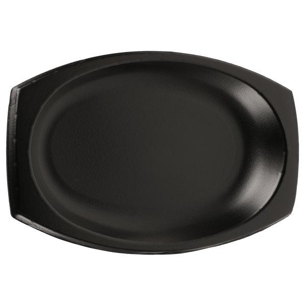 Dart Solo 11PRBQR 11 inch Quiet Classic Black Laminated Foam Platter - 500/Case